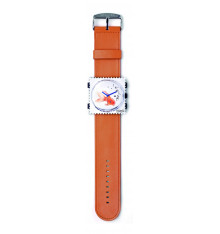 Bracelet de montre-STAMPS Classic Orange. E-Shop bijoux-totem.fr