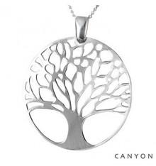 Sautoir pendentif Arbre de vie-CANYON en argent 925/1000 CANYON-E-Shop bijoux-totem.fr