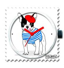 Stamps-chérie-cadran-montre-bijoux totem.