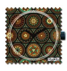 Stamps-persian pattern-cadran-montre-bijoux totem.