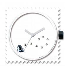 Stamps-funky blue diamond-cadran-montre-swarowski-bijoux totem.