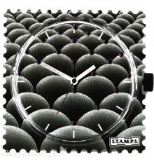 Stamps-nodular diamond-cadran-montre-bijoux totem.
