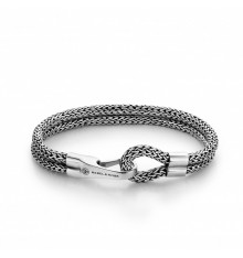 rebel&rose-double hooked-bracelet-argent 925-bijoux-totem.fr