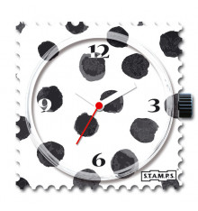 Stamps-black art-cadran-montre-bijoux totem.