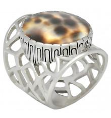 jalan jalan-bague-argent 925-coquillage batik-bijoux totem.