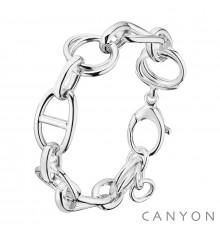 canyon-bracelet-maillons marin-argent 925-bijoux totem.