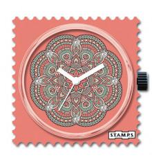 Stamps-mandala diamond-cadran-montre-swarovski-bijoux totem.