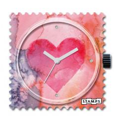 Stamps-heart final diamond-cadran-montre-swarovski-bijoux totem.