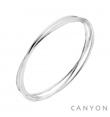canyon-bracelet-3 joncs-argent 925-bijoux-totem.fr