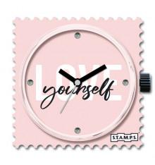 Stamps-diamond love-cadran-montre-swarovski-bijoux-totem.fr