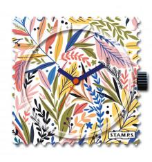 Stamps-pattern fern-cadran-montre-bijoux-totem.fr
