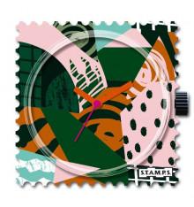 Stamps-crazy jungle-cadran-montre-bijoux-totem.fr