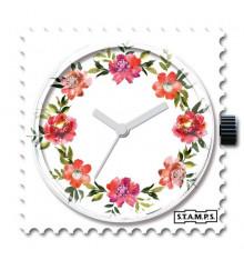 Stamps-diamond floral-cadran-montre-bijoux-totem.fr