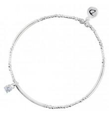DORIANE-Argent 925-bracelet-extensible-bijoux totem.