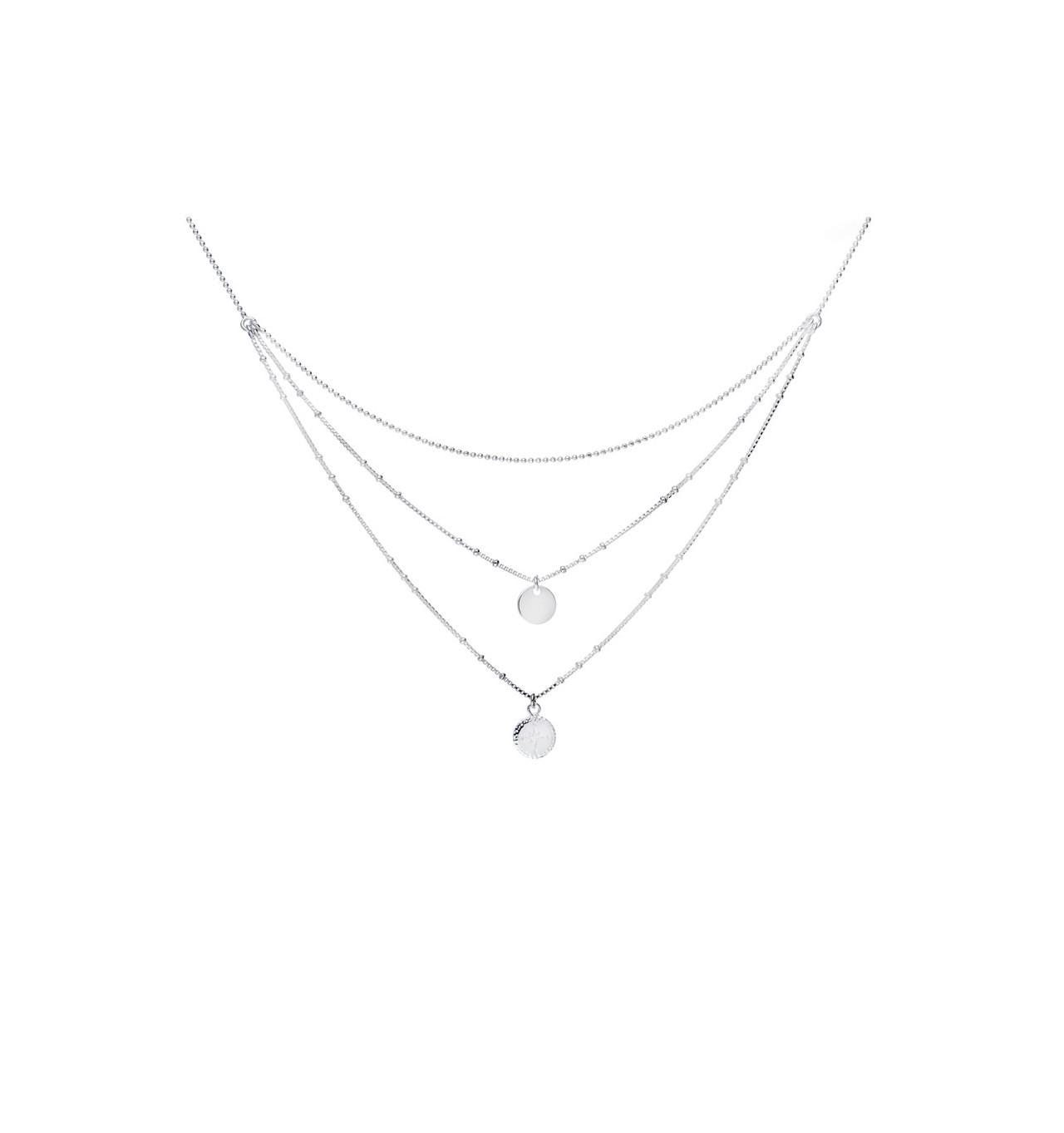 doriane-Argent 925-collier-triple rangs-bijoux totem.