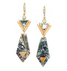 franck herval-élisa-dormeuses-pendantes-bijoux totem