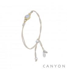 canyon-bracelet-cordon-argent 925-pierre de lune-bijoux-totem.fr