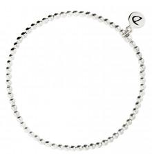 DORIANE-Argent 925-bracelet extensible-bijoux totem.