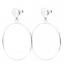 doriane-argent 925-madison-boucles d'oreilles-gitanes-bijoux totem.