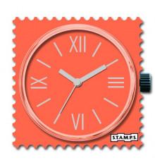 stamps-fresh coral-cadran-montre-bijoux totem