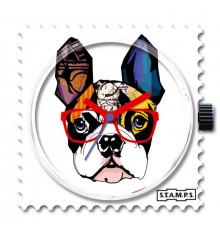 stamps-mr dog-cadran-montre-bijoux totem