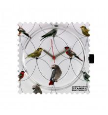 stamps-diamond birds-cadran-montre-swarovski-bijoux totem