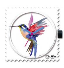 stamps-humming bird-cadran-montre-bijoux totem