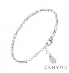 canyon-bracelet-perles rondes plates-argent-bijoux totem