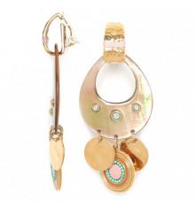 franck herval-les radieuses-clips-nacre-bijoux totem.