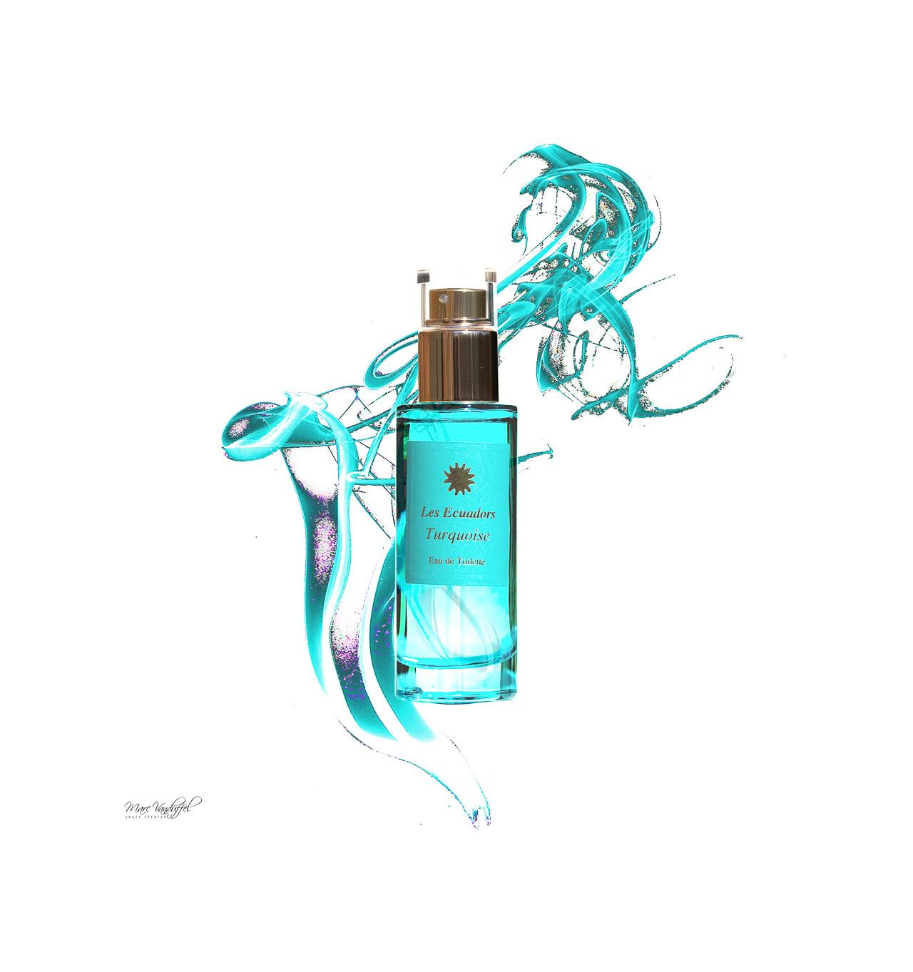 les ecuadors-eau de toilette-turquoise-flacon 30ml-bijoux totem.