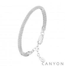 canyon-bracelet-maille framboisine-bijoux totem
