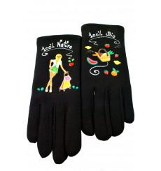 Quand les poules auront des gants-100% Nature-gants-bijoux-totem.fr