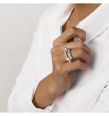 cxc-poniente-bague-plaqué argent-rectangulaire-bijoux totem.