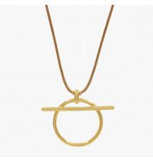 cxc-poniente-collier-plaqué or-bijoux totem