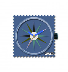 stamps-dress blues-cadran-montre-bijoux totem