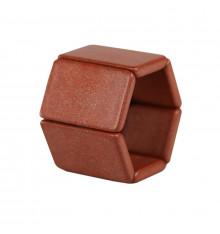 Stamps-Belta-tetra-marron-bracelet-bijoux totem.