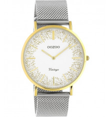 oozoo-montre-femme-maille milanaise-silver-bijoux totem