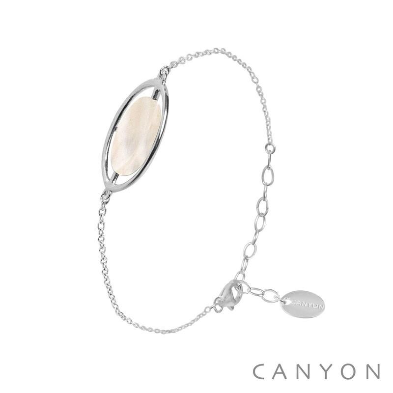 canyon-bracelet-argent-nacre-bijoux totem