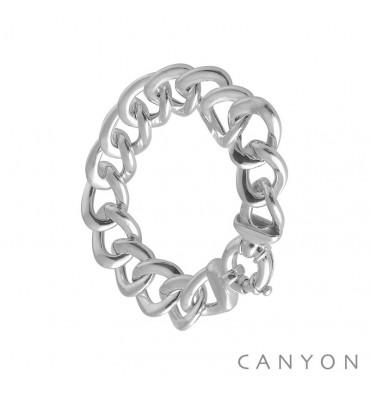 canyon-bracelet-argent-maillon-gourmette-bijoux totem