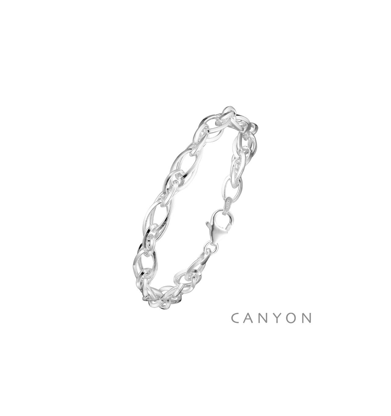 canyon-bracelet-argent-fins maillons-bijoux totem