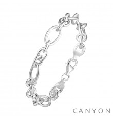 canyon-bracelet-argent-maillon-ovale-rond-bijoux totem