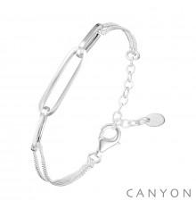 canyon-bracelet-argent-maillon-rectangles-bijoux totem