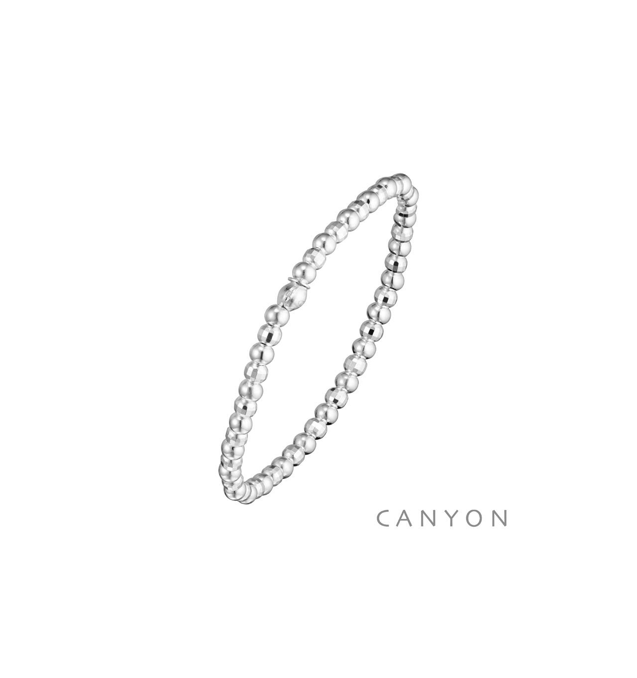 canyon-bracelet-argent-extensible-petites boules-bijoux totem
