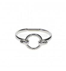 Secret de cuir-jonc-bracelet-donut-bijoux totem.