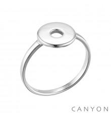 canyon-bague-argent 925-rond évidé-bijoux totem.