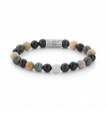 Rebel and rose-autumn storm-bracelet-extensible-homme-bijoux totem.