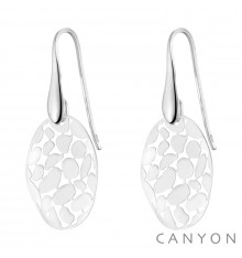 canyon-dormeuses-ovales ajourées-argent 925-bijoux totem.