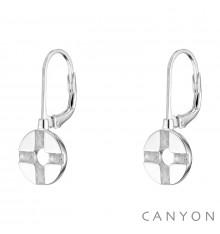 canyon-dormeuses-oxyde-argent 925-bijoux totem.