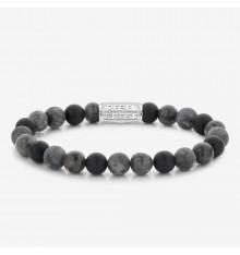 rebel&rose-grey rocks-bracelet-extensible-homme-bijoux totem.