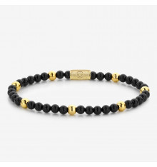 rebel&rose-black panther-bracelet-extensible-femme-bijoux totem.